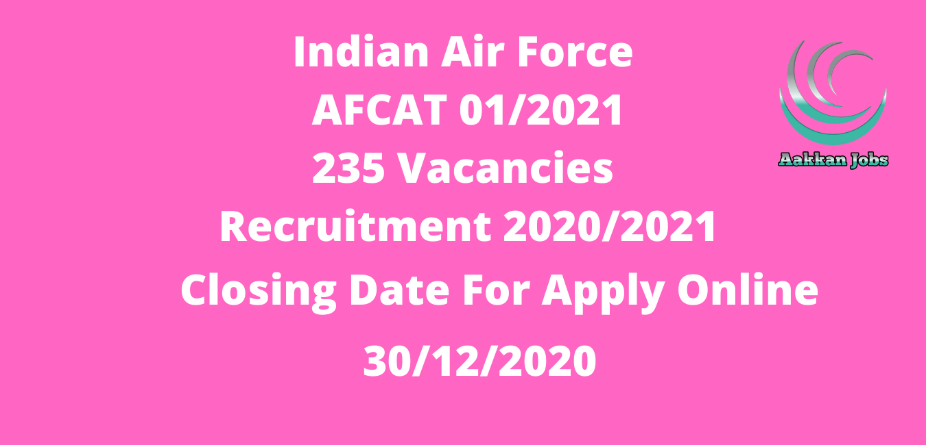 central government jobs IAF